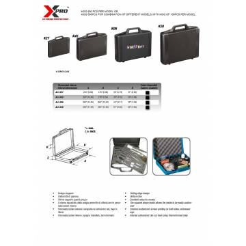 XPRO GENERAL CASE - K SERIES (MADE IN ITALY)