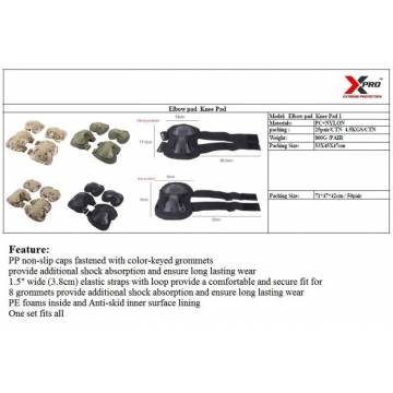 XPRO KNEE AND ELBOW GUARDS